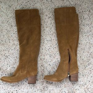 5cafdce3252 Marc Fisher Tan suede above the knee boot - 6.5